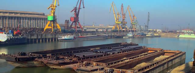 Transport fluvial, river cargo